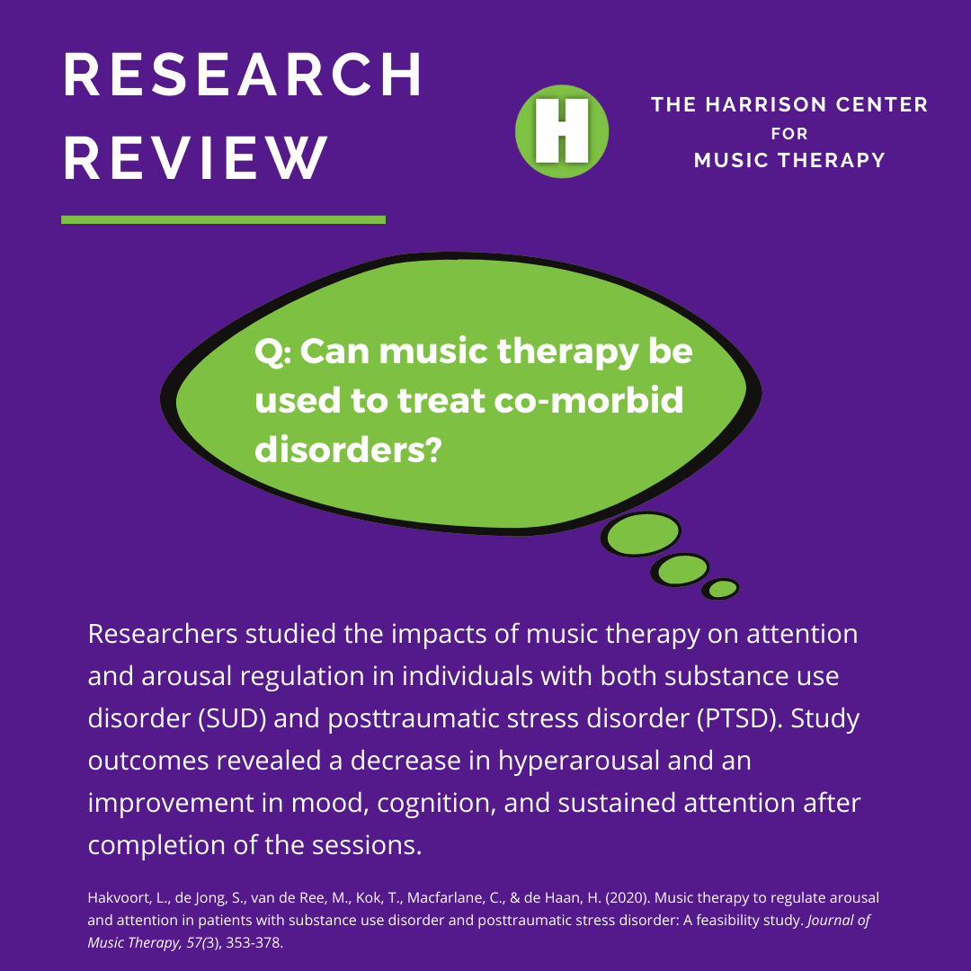 Music Therapy and Co-Morbid Disorders