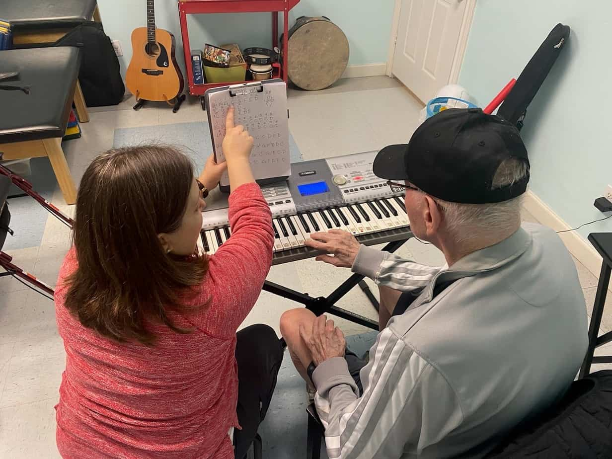 Adult Music Therapy in Houston Image